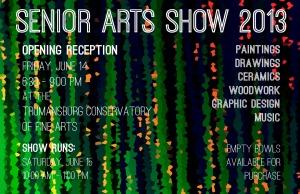 senior art show 2013