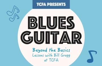 Blues Guitar Beyond the Basics Poster