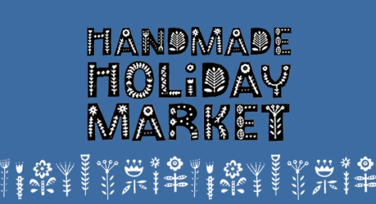 handmade holiday market banner